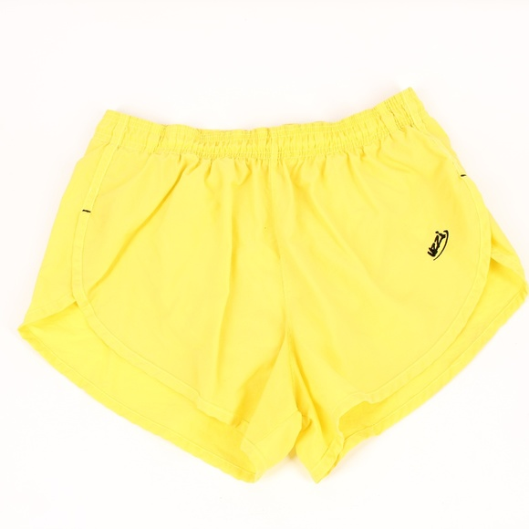 Uzzi Other - Vintage Uzzi Bright Yellow Running Short Shorts